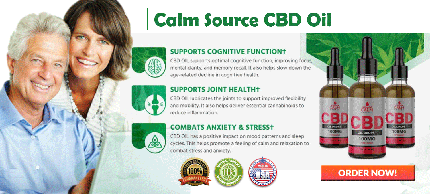 Calm Source CBD Oil [UPDATED 2021] - Is CBD Oil Legal or give good Benefits? - Avengers For Healh