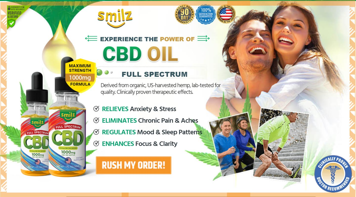 Smilz Full Spectrum CBD Oil